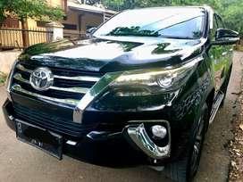 Dijual Toyota Fortuner VRZ 2016 AT Hitam Pajak Panjang..