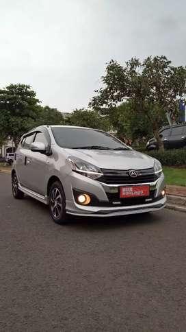 PROMO Daihatsu Ayla R Mt 1.2 2019 Full Orisinil  km 3000 istimewah.!