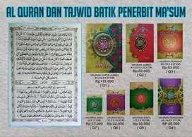 Al Quran Ma'sum cover Batik murah dengan berbagai ukuran (Purworejo)