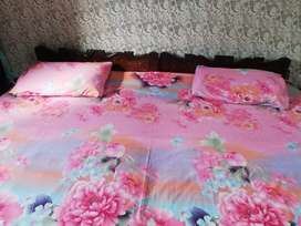Double bed with Mattress(good condition)