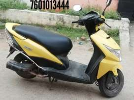 Honda dio 2015model all credit cards are accepted