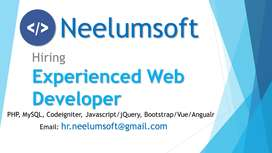 2+ Years Experienced PHP Developer