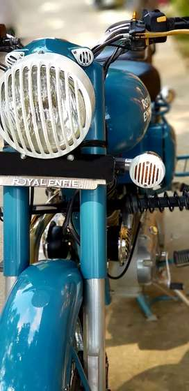 Royal enfield500 exactly showroom condition
