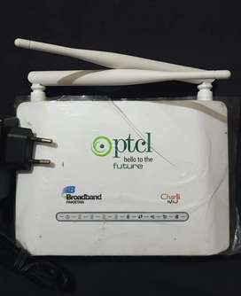 Ptcl wifi router available (cabal net also sported)