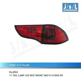 Stop Lamp Pajero Model LED BAR Warna Red Smoke