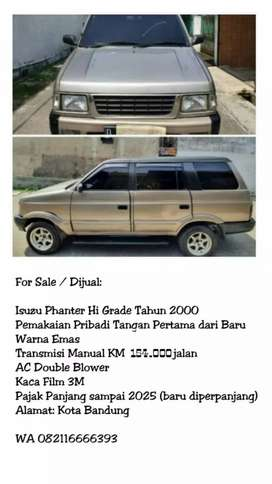 Isuzu Phanter Hi Grade 2000 Antik