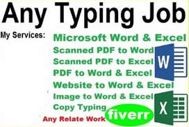 Data entry home based job part time work