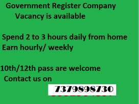 Vacancy for back office in indian