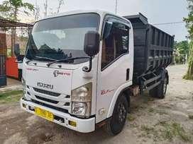 Truk ISUZU Elf NMR 71hd Dump truk th 2016 pemakaian 2017