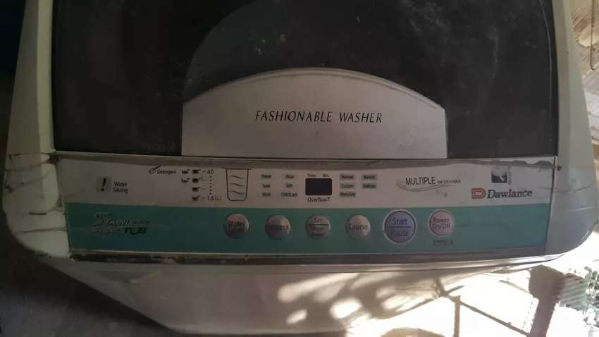 Dawlance washing machine only circuit board  needs to be repaired