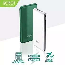 Powerbank pengisi dan penyimpan daya cepat s10 samsung iphone support