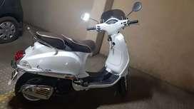 Veapa 150cc,  white colur,brand new condition.