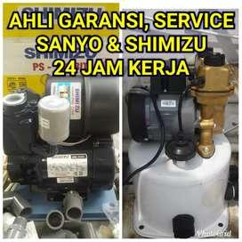 AHLI.GARANSI.TUKANG service Sanyo & Shimizu.jujur,24 jam.cepat,NARDIK