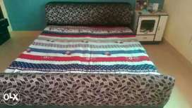 """Dabble bed 72""""×75"""""""