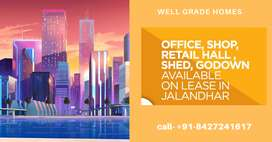 Well furnished office space available on rent in jalandhar city