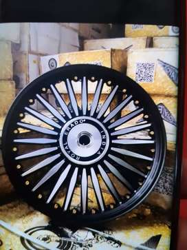 brand new alloy wheels for royal enfield