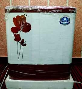 Intex 6.2 kg Semi Automatic Top Load Washing Machine (Maroon Colour)