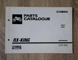 Yamaha RX-KING 3KAF -2004- Parts Catalogue Original