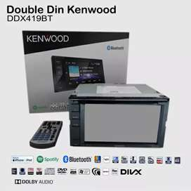 Head Unit Kenwood DDX 419 BT HeadUnit Double Din Kenwood DDX 419BT