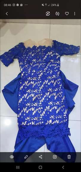 Dress hongkong high quality cuma 400rb .
