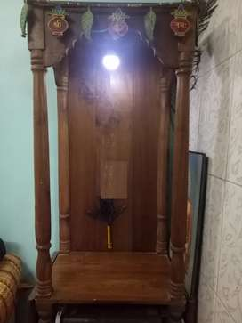 Saga Mandir with Small Cupboard