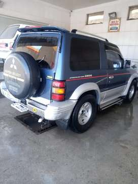 Pajero intercooler urgent sale automatic complete documents