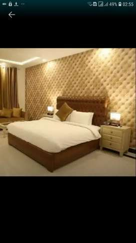 Par day & Two Bedroom Apartments available for rent Bahria ph 4