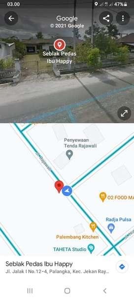 Di jual tanah dan bangunan lokasi ciamik Palangkaraya