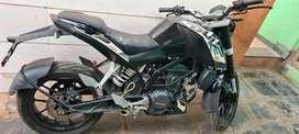 KTM DUKE 200 NEW TYRE LESS USE