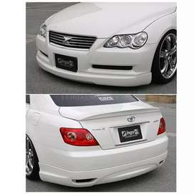 Body kit for Toyota Mark X