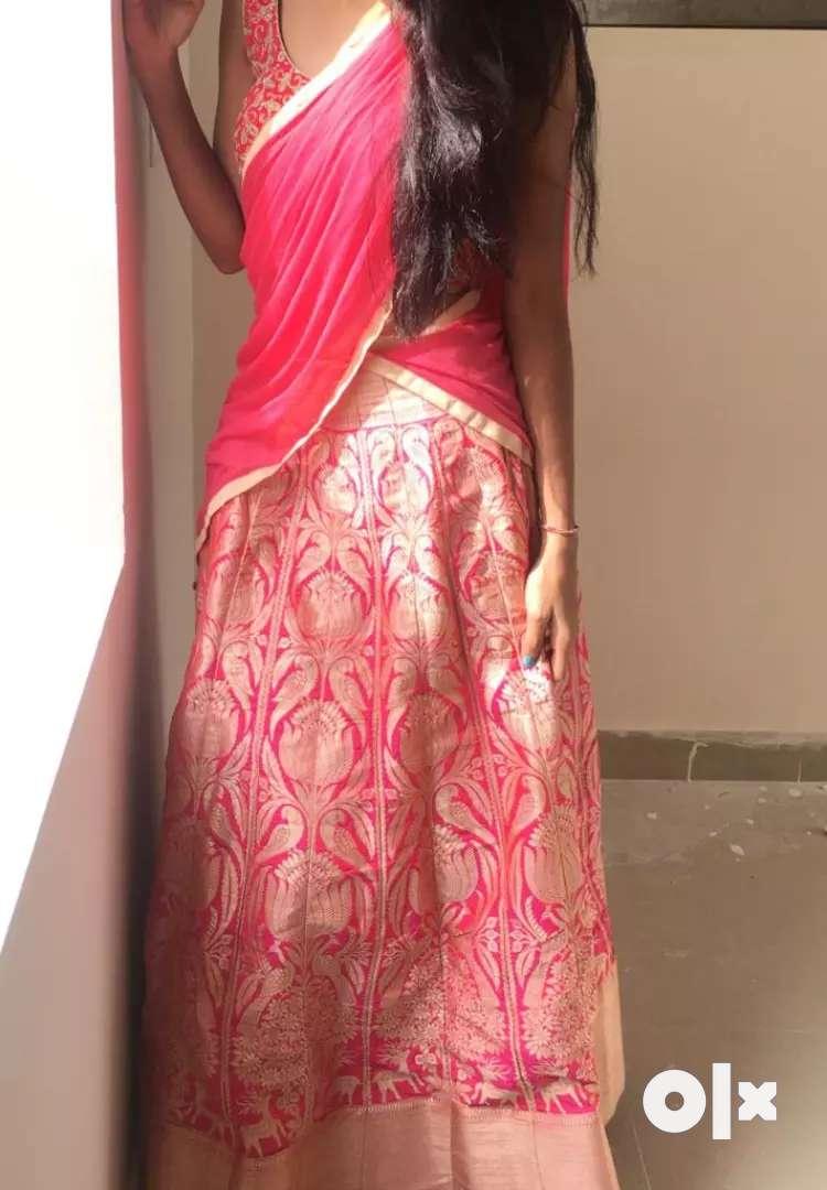 Half saree 0