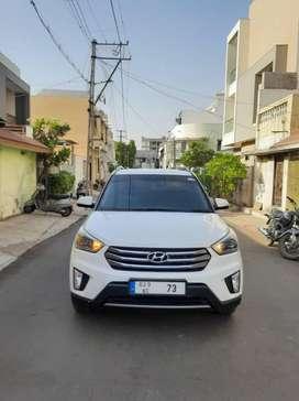Hyundai Creta 1.6 VTVT SX Plus Dual Tone, 2017, Diesel