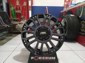 Velg mobil Racing HSR MYTH05 Ring 20 lebar 9 Untuk Strada Triton BT50