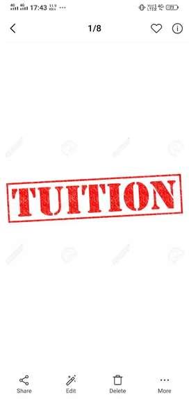 English and Hindi tuition