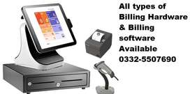 Complete Billing software & Hardware Available in Whole sale Price