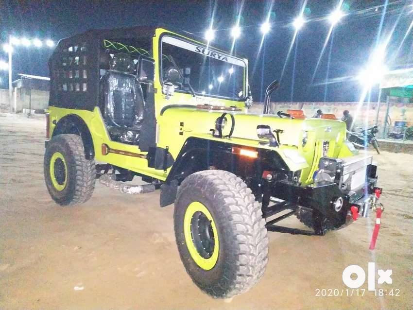 AJAY modified jeeps 0
