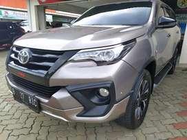 Toyota fortuner SRZ TRD matic 2018 bensin