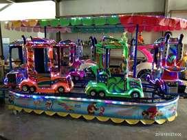 Pancingan odong kereta mini coaster panggung RAA