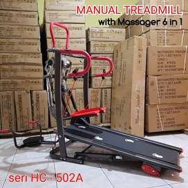 Siap antar Treadmill manual