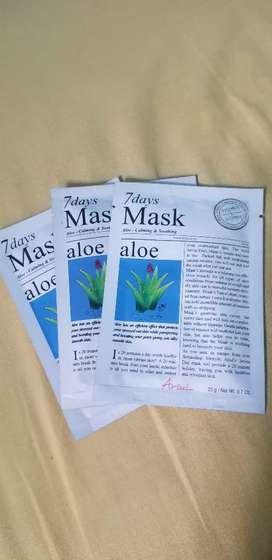 7 days mask ariul