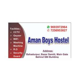 Boys hostel at cheper price