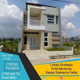 CLUSTER STRATEGIS 2 Lantai blk Carefour   dekat Tol Buah batu Bandung