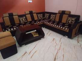Brand new L shape sofa 6 month old for sell