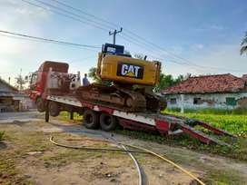 Sewa alat berat proyek becko pc50 rental excavator dozer wales vibro