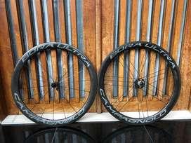 Wheelset roadbike Campagnolo Bora Ultra 50mm rimbrake clincher ceramic