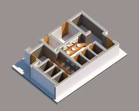 Creates 3D modelling in REVIT, VRAY and LUMION -freelance