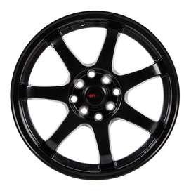 jual velg HSR-GTR-Sport-994Ring-16x7-H8x100-1143-ET38-Semi-Matte-Black