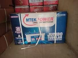 Microtek 160 ah tubular battery 36 months warranty E.M.I available