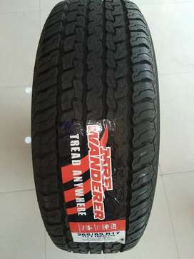 New MRF tyres for SUV cars (Fortuner/Pajero etc)