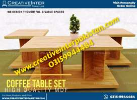 Centertable in econmical price Sofa set coffee chair dresing table